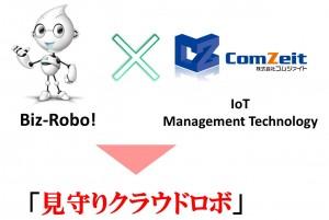見守りクラウドロボ(コムツァイト・IoT Management Technology採用)サービスを発表
